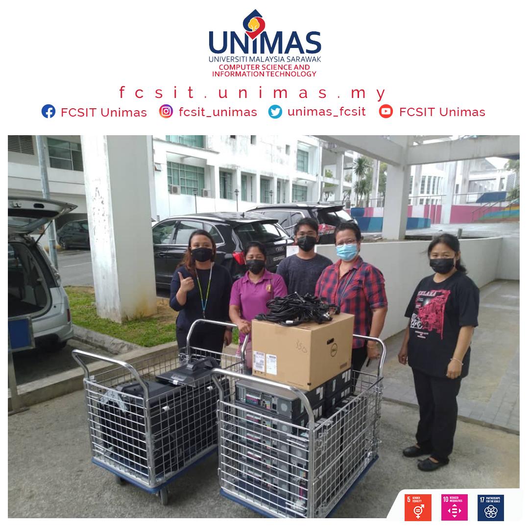 Hand Over 12 units of used computer to Sarakup Indu Dayak Sarawak (SIDS)