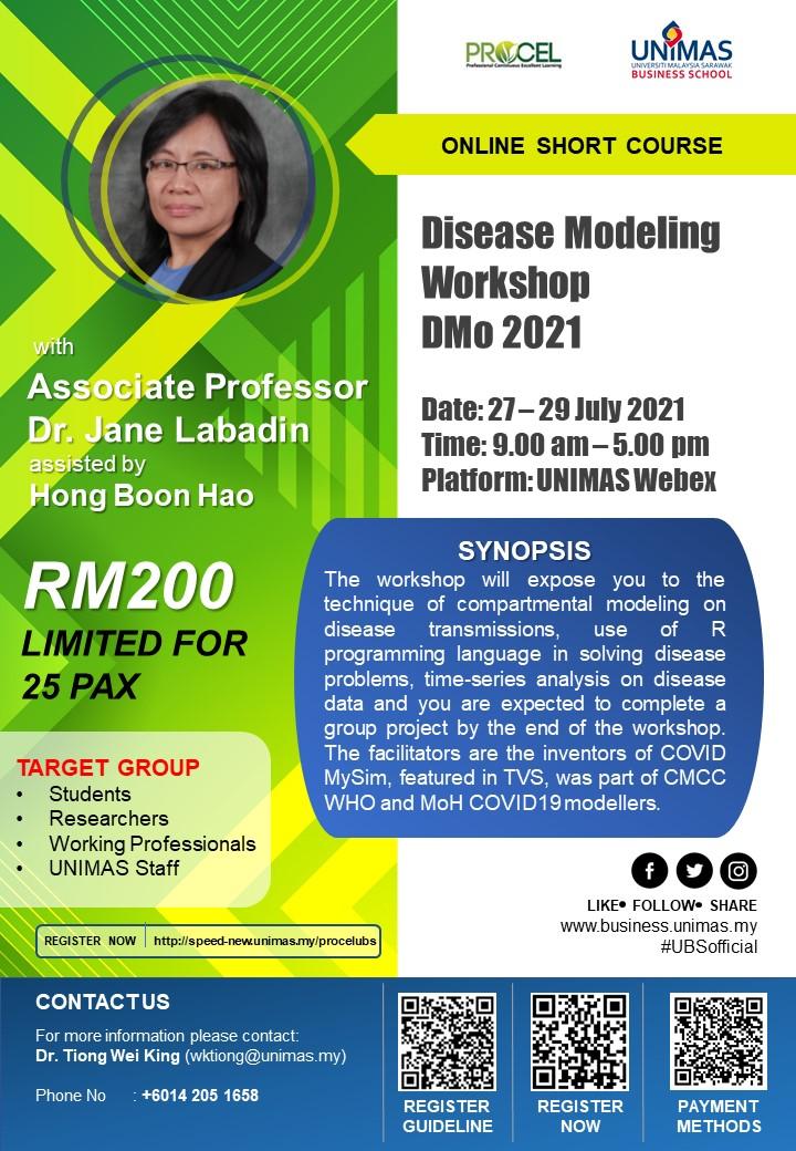 Disease Modeling Workshop DMo 2021