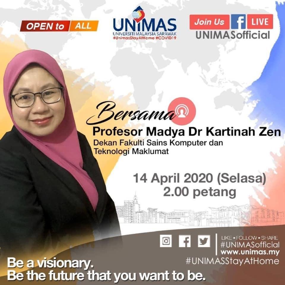 LIVE bersama Dekan Fakulti Sains Komputer dan Teknologi Maklumat UNIMAS