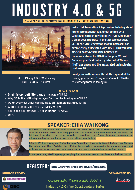 Industry 4.0 & 5G