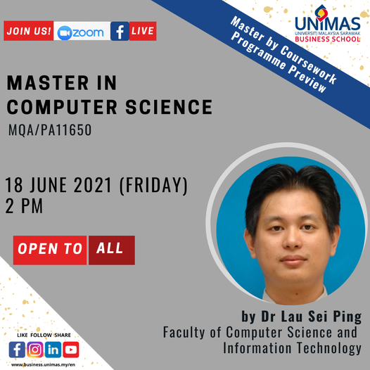 Master in Computer Science Programme Preview