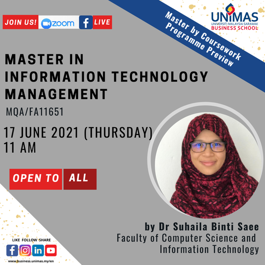 Master in Information Technology Management Programme Preview