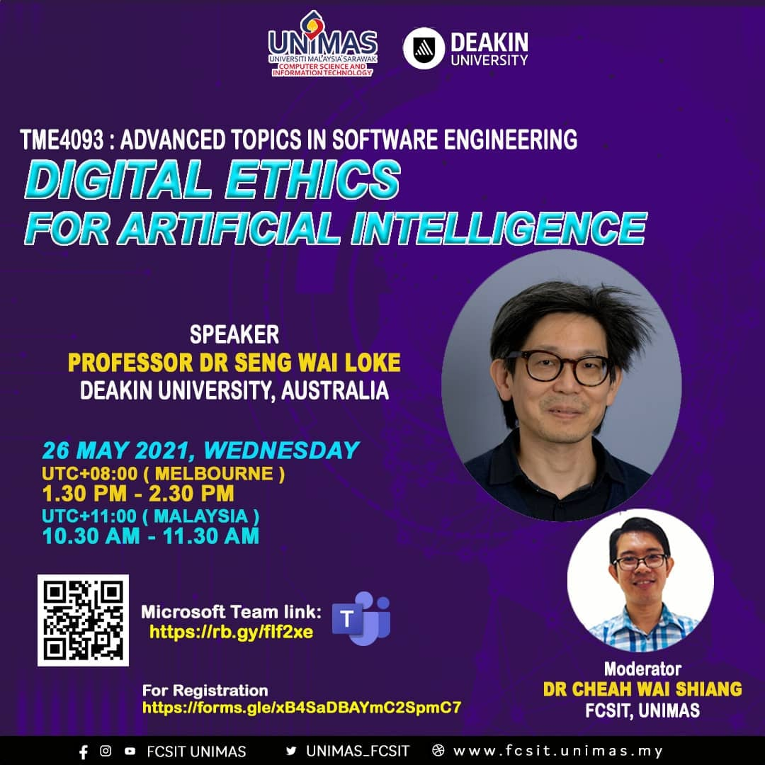 Digital Ethics for AI